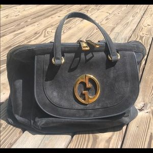 Gucci 1973 Suede Bag